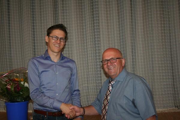Rolf Efinger nach 20 Jahren als 1. Vorstand verabschiedet